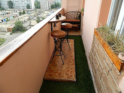 Балкон покрытие на дом