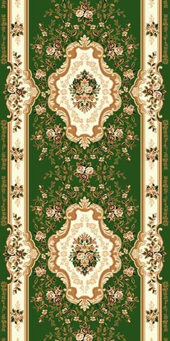 Купить Дорожка ковровая (тканная) Diana 5 зел по цене 680 руб. в интернет магазине Мос Ковролин